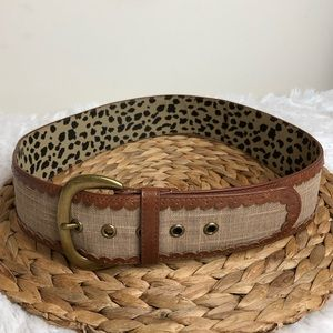Betsey Johnson Wide Belt Size Large
